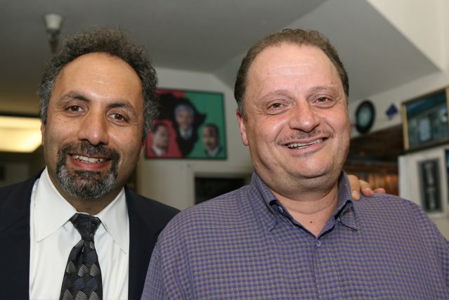 Jess Ghanam and Jamal Dajani